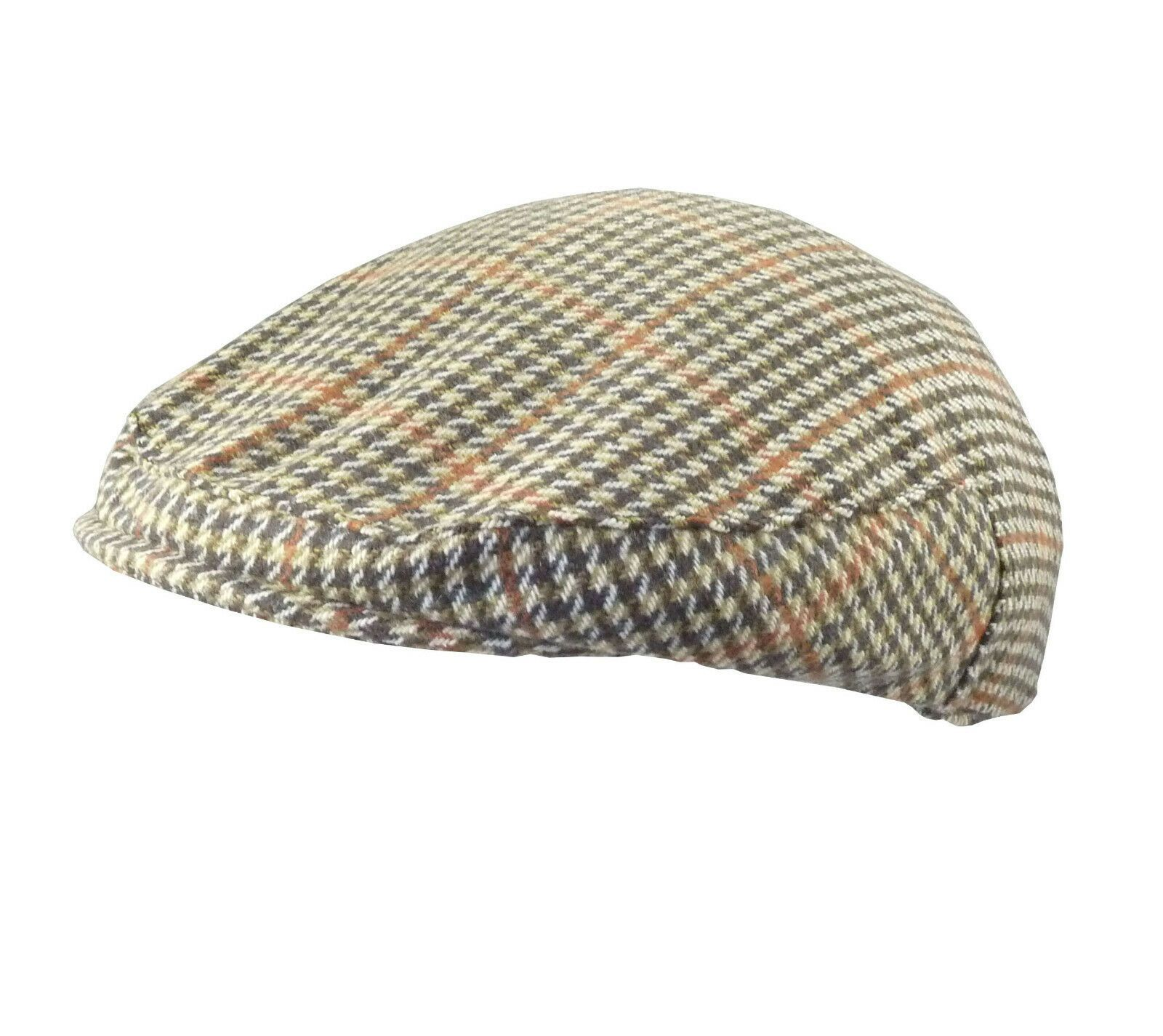 Tweed Trilby Hat Classic Country Style 2 Colours 4 Sizes