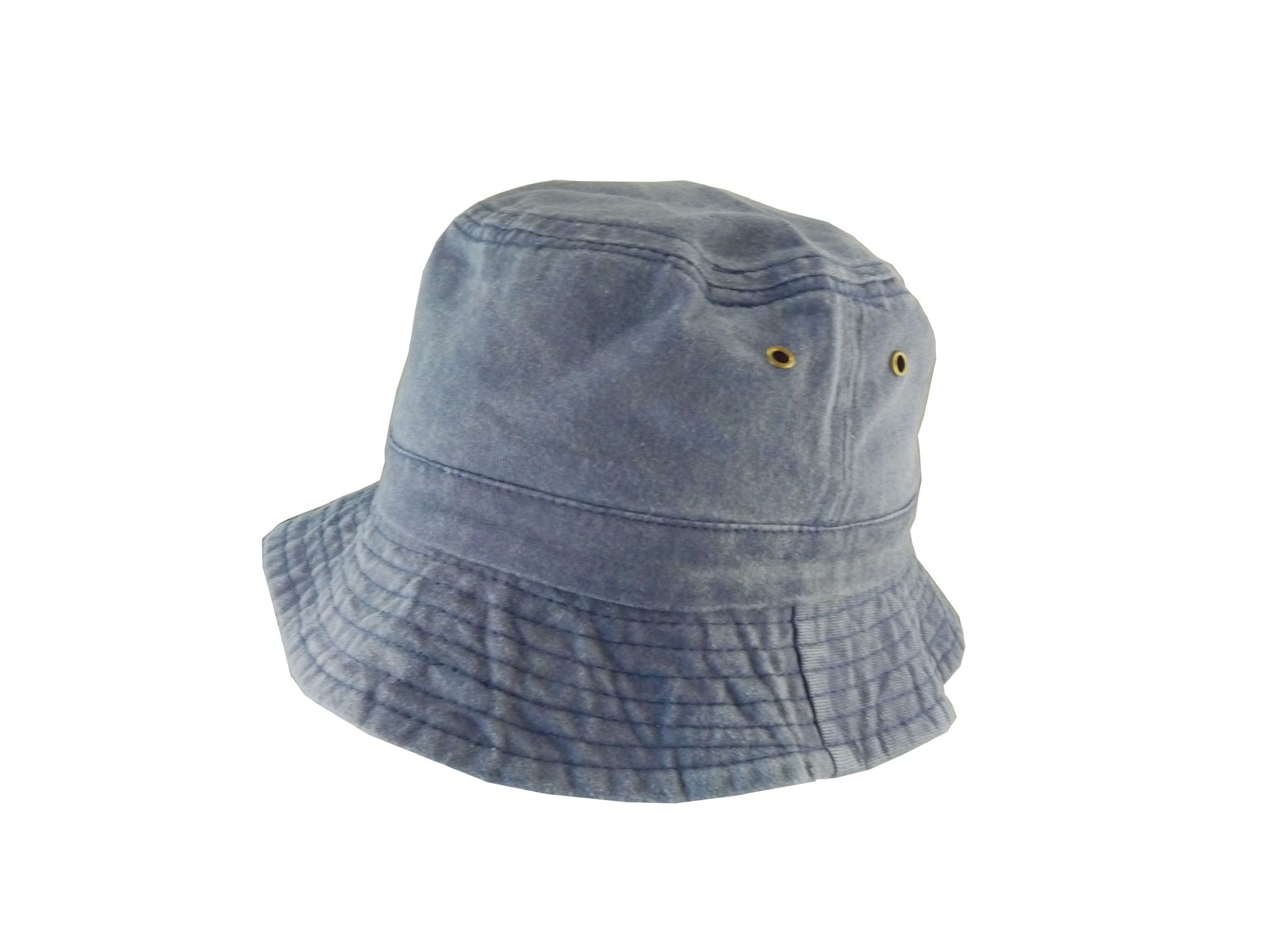 3703864c46c Blue Bucket Hat - Pre Washed Denim Sun Hat